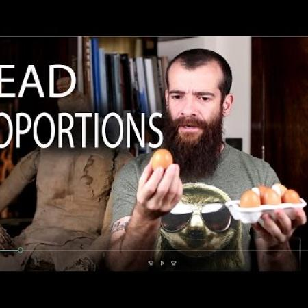 Head Proportions. Cesar Santos vlog 005