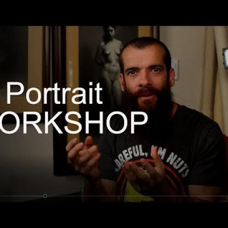 Portrait Workshop in Italy. Cesar Santos vlog 013