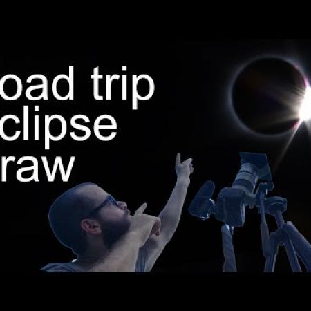 Road Trip, Eclipse, Draw. Cesar Santos vlog 021