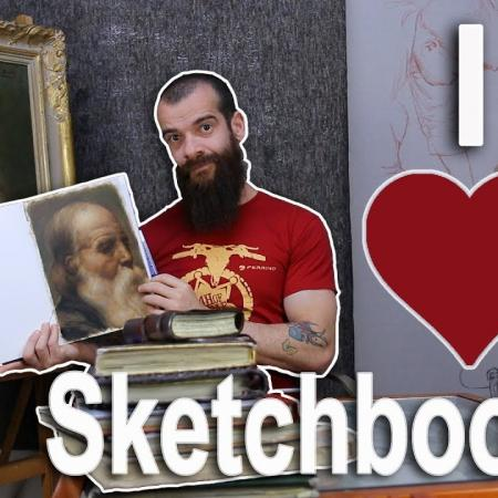 How to Choose Your Sketchbook (A Review of Stillman & Birn Sketchbooks). Cesar Santos vlog 048