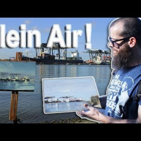 Plein Air Painting. Cesar Santos vlog 036