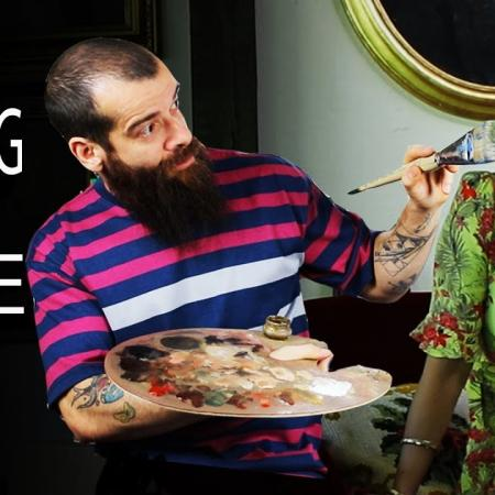 Painting a Muse, Artistic Freedom. Cesar Santos vlog 052