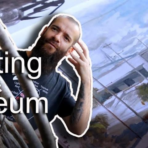 A Day of Museum and Painting in Charleston, SC. Cesar Santos vlog 063