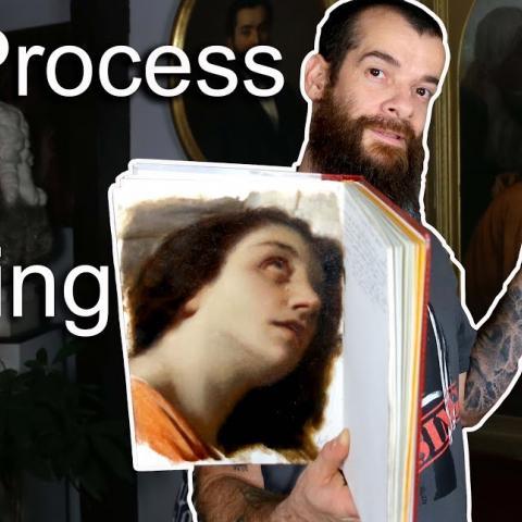 The Process of Painting. Cesar Santos vlog 072