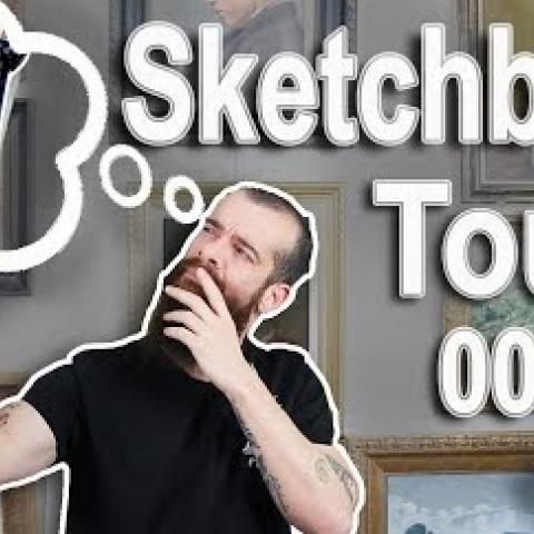 Sketchbook Tour 005. (From High School, 1998-1999) Cesar Santos