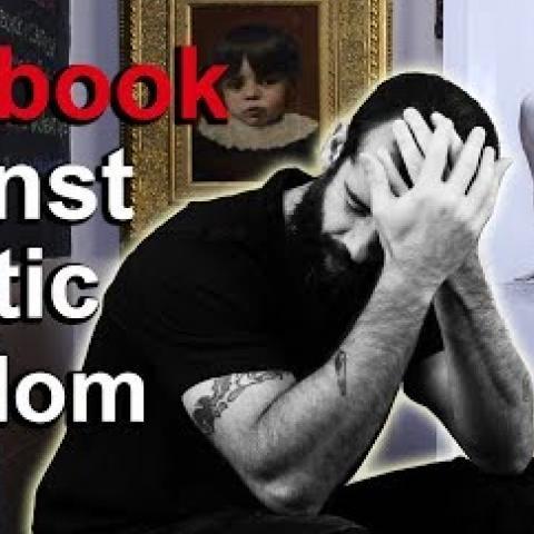 Facebook Censored My Charcoal Drawing. Cesar Santos vlog 030