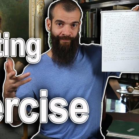 Painting Exercise. Cesar Santos vlog 055