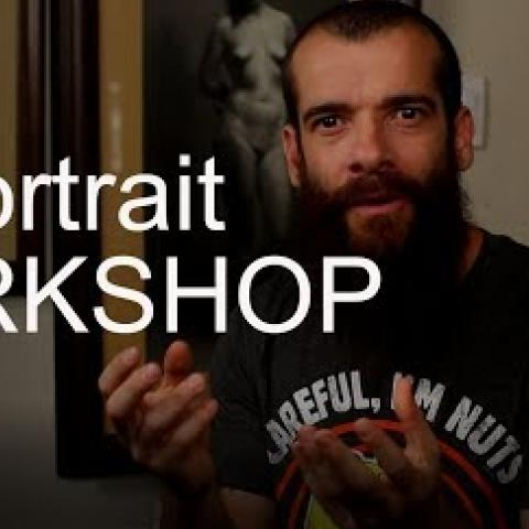 Portrait Workshop in Italy. Cesar Santos vlog 013