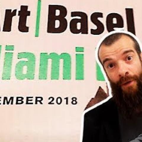 Art Basel Miami and The Paris Salon. Cesar Santos vlog 071