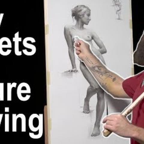 My Secrets of Figure Drawing. Cesar Santos vlog 040