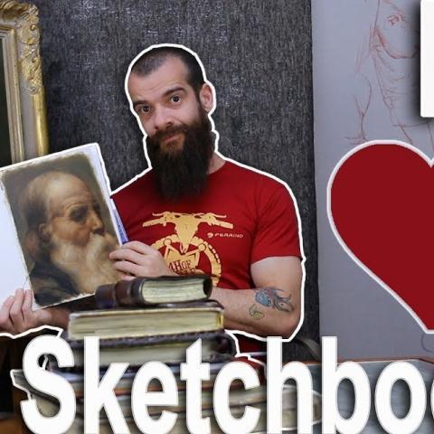 How to Choose Your Sketchbook (A Review of Stillman & Birn Sketchbooks). Cesar Santos vlog 048