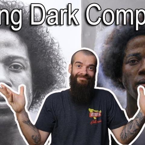 How I Paint Dark Skin Color. Cesar Santos vlog 069
