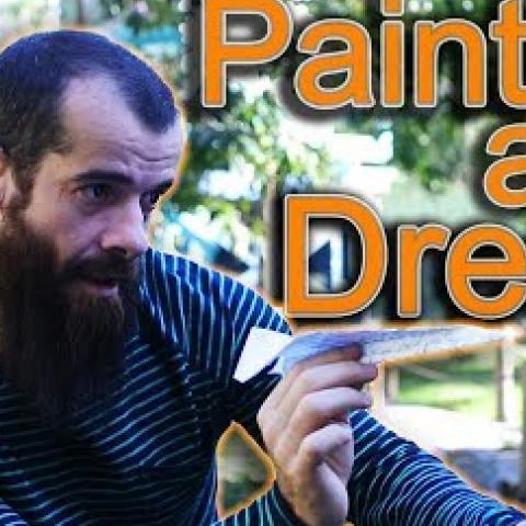 How to Paint a Dream. Cesar Santos vlog 033