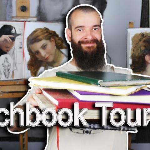 Sketchbook Tour 007. Cesar Santos