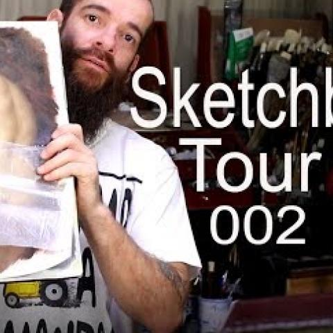 Sketchbook 002. Cesar Santos