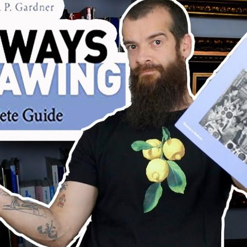Gateways To Drawing, A Review. Cesar Santos vlog 081