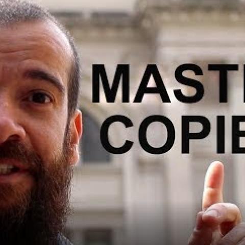 Master Copies. Cesar Santos vlog 011