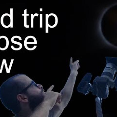 Road Trip, Eclipse, Draw. Cesar Santos vlog 021
