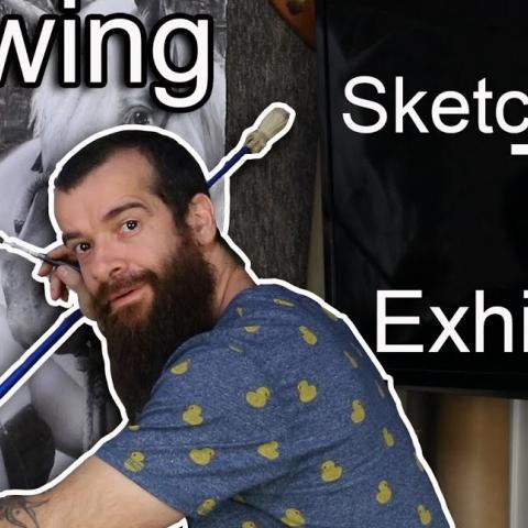 Paint, Draw and Show. Cesar Santos vlog 078